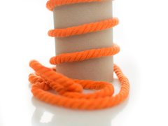 Kordel - 10mm - rund - orange
