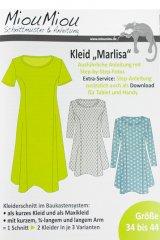 """Schnittmuster - Kleid """"Marlisa"""" - Miou Miou"""