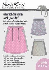 Schnittmuster - Nelda - Hüftrock - Miou Miou
