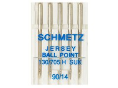 Nadel - 130/705H - 90/14 - SUK - Ball Point - Schmetz
