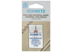 Zwillingsnadel - 130/705 H ZWI - 4,0/80 - Schmetz