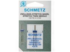 Zwillingsnadel - 130/705 H-S - 4,0/75 - Schmetz