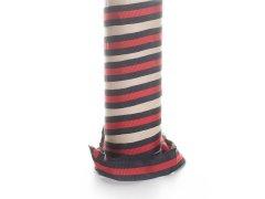 Ripsband - schwarz - rot