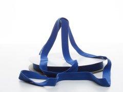 Schrägband - Baumwolljersey - kobalt blau