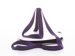 Schrägband - Baumwolljersey - violett