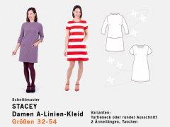 Schnittmuster - Damen A-Linien-Kleid Stacey - pattydoo
