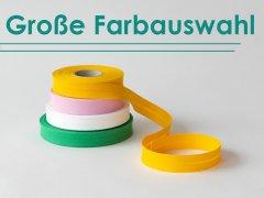 Schrägband versch. Farben - Baumwolle - 20mm - Prym