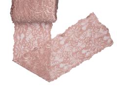 Spitze elastisch - 150mm breit - hautfarbe