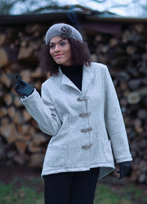 Schnittmuster - Jacke mit Stehkragen - 04-334 - Pattern Company
