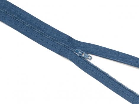 Reißverschluss YKK - jeansblau - 12-60cm - unteilbar 30 cm
