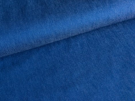 Jeans - Stretch - uni - royalblau