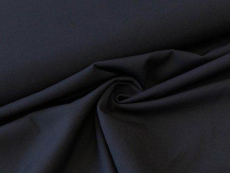 Viskose - Stretch - einfarbig - schwarz