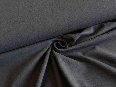 BIO Jersey Single - anthrazit - einfarbig