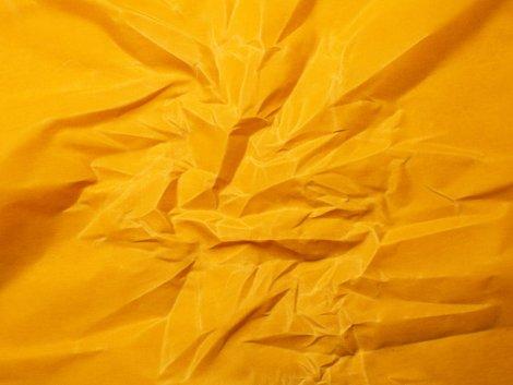 Canvas - Oilskin - beschichtet - senf