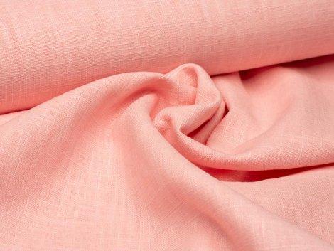 Leinen - glatt - rosa