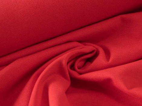 BIO Jersey Single - rot - einfarbig