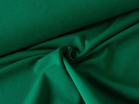 BIO Jersey Single -moos -grün einfarbig