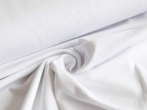 BIO Jersey Single - weiß - einfarbig