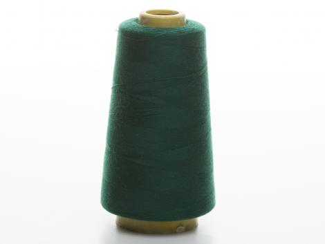 Overlockgarn - flaschengrün