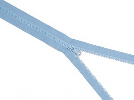 Reißverschluss YKK - pastellblau - 40cm - teilbar 40 cm