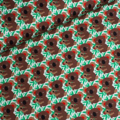 Jersey Single - Koala - Hilco - weiß