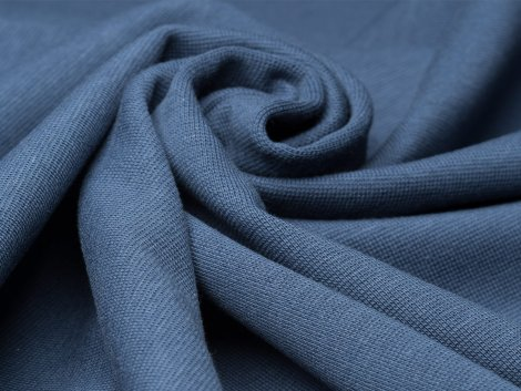 BIO Bündchen Feinripp - Ole - dunkelblau
