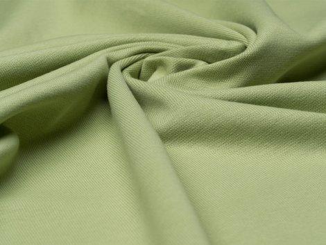 BIO Feinripp Jersey - Kim - hellgrün