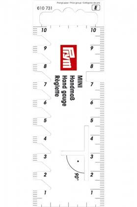 Handmaß - 10cm - Prym - weiß