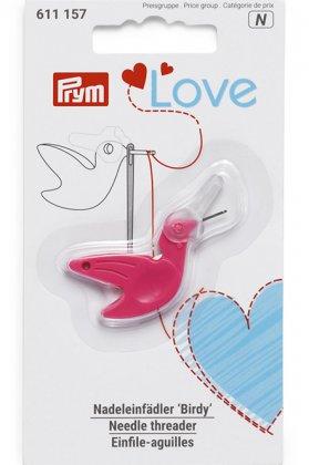 Nadeleinfädler 'Birdy' - Prym Love - pink
