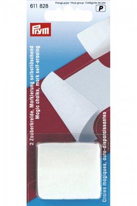 Zauberkreiden - selbstlöschend - Prym - weiß