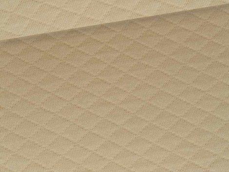 Reststück 0,90m - Baumwollstepp - beige