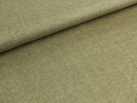 Jeansleinen - grün - braun