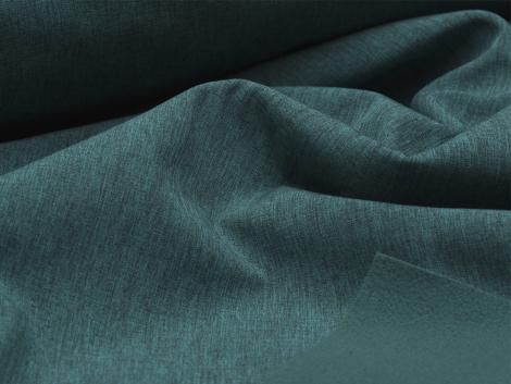 Softshell - meliert - dunkelgrün - schwarz