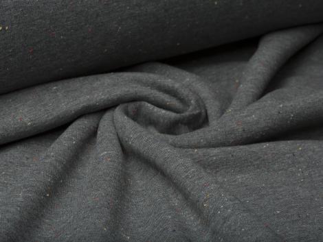 Sweat - Cosy Colours - Punkte - dunkelgrau