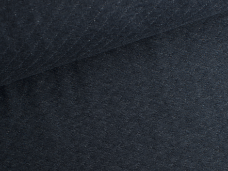 Baumwollstepp - dunkelblau