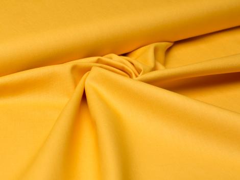 Baumwolle - uni - gelb