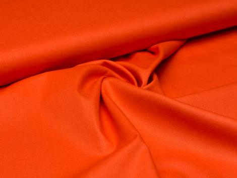 Baumwolle - uni - Flammen orange
