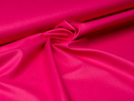 Baumwolle - uni - pink