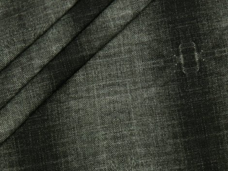 BIO Sweat - Jeansoptik - grau - EXKLUSIV DESIGN