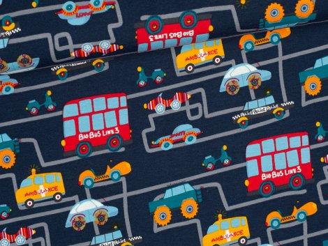Jersey Single - Traffic Jam - blau
