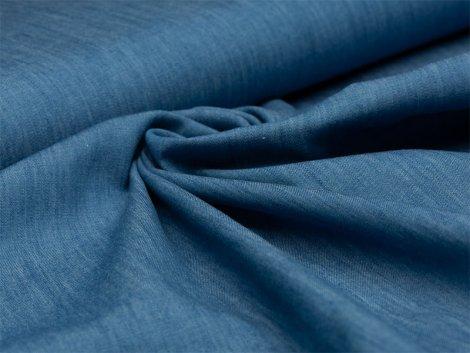 Jeans - melange - hellblau