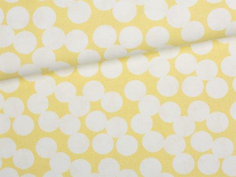 Canvas - Punkte - Tillisy - gelb