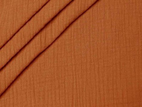 Musselin - Double Gauze - uni - orange