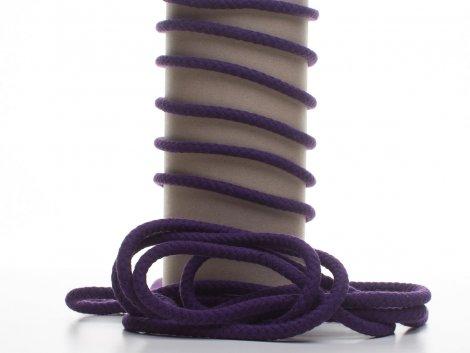 Kordel - 8mm - rund - violett
