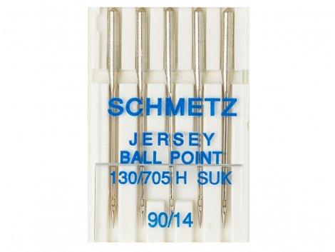 Nadel - 130/705H - 90/14 - SUK - Ball Point - Schmetz
