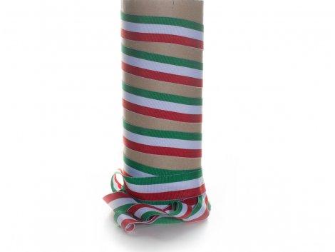 Ripsband - grün - weiß - rot