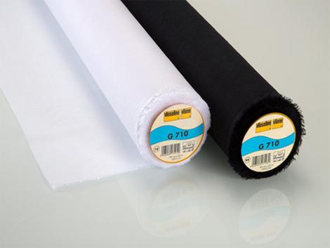 Gewebeeinlage - G710 - Vlieseline schwarz