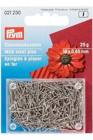 Eisenstecknadeln - 0,65mm - 25g - Prym