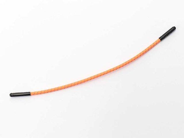 Reißverschluss - Zipper - Zierteil - viele Farben neonorange - mit reflektierenden Streifen