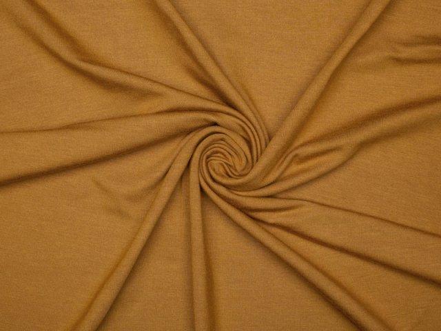 Modal Tencel Jersey - uni - senfbraun